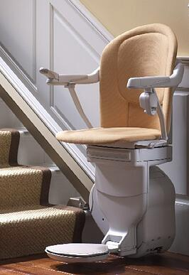 Stannah 400 model with Sofia seat option