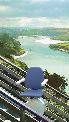MediTek outdoor model stairlift