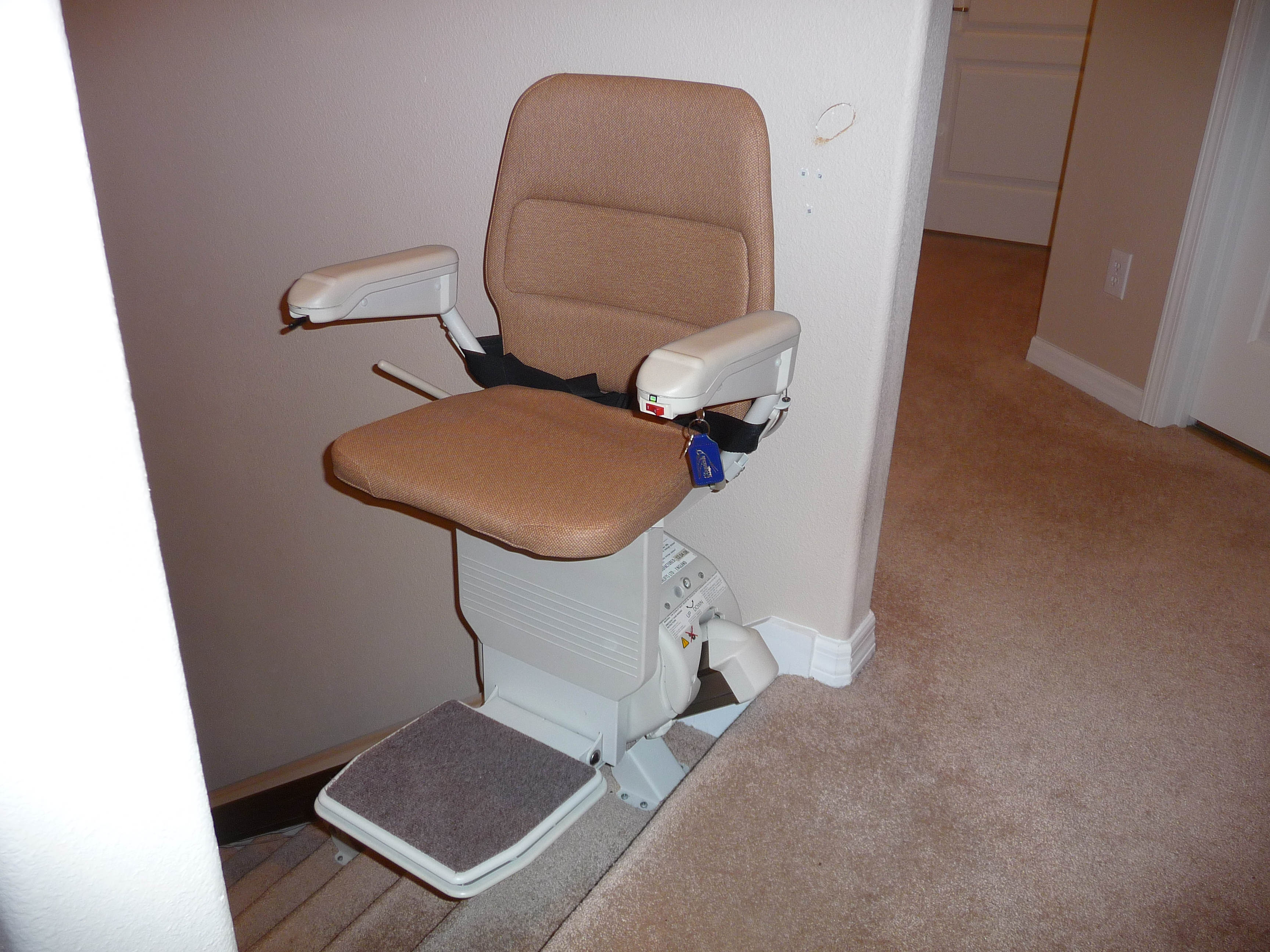Stannah straight stairlift