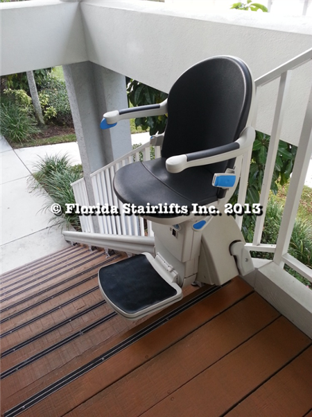 Ready to glide you down the stairs in comfort. The Sterling 1000 is one of the quietest lifts available on the market today.