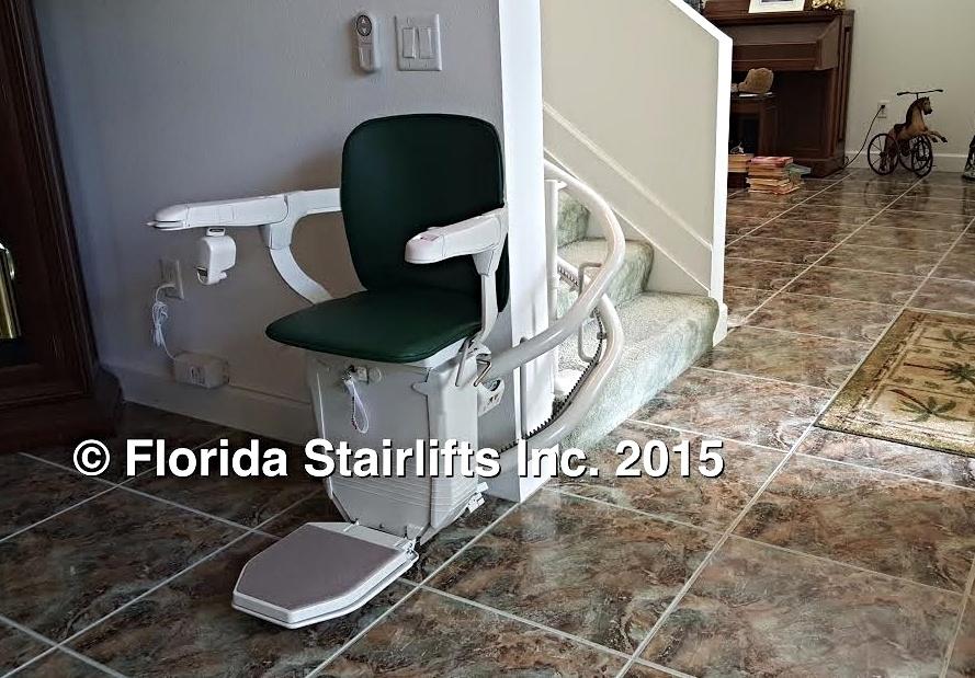 Stannah 260 Siena custom curve